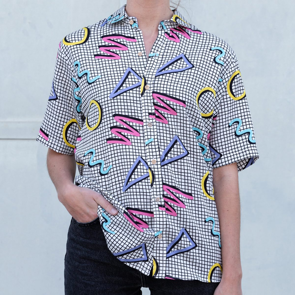 Squiggle Shirt by Meh